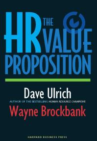 Cover art for HR Value Proposition eBook