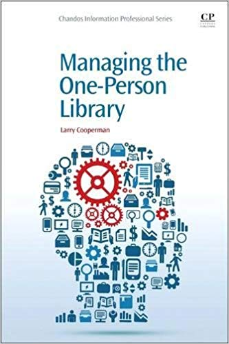 Cover art for Managing the One-Person Library