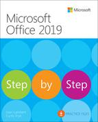 Cover art for Microsoft Office 2019 eBook