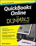 Cover art for Quickbooks Online for Dummies