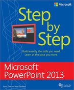 Step by Step Microsoft PowerPoint 2013 cover art
