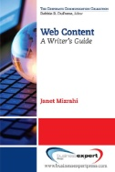 Book cover for Web Content: A Writer's Guide eBook
