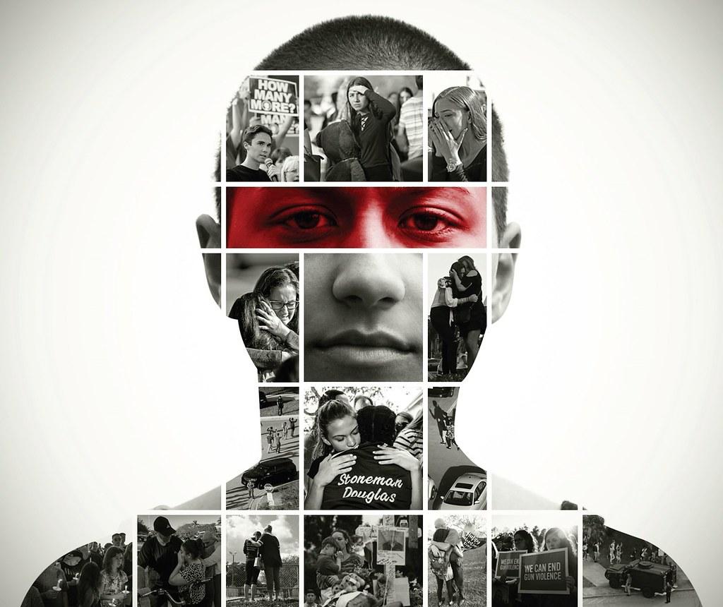 X Gonzalez poster; Art by Michael Drake. CC-BY-SA-2.0 license.