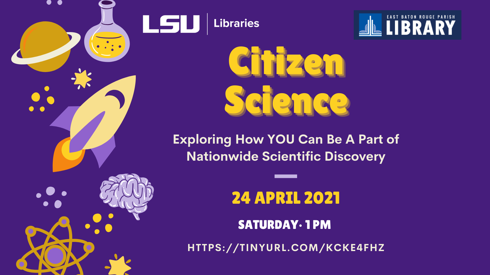 Flyer for Citizen Science Workshop