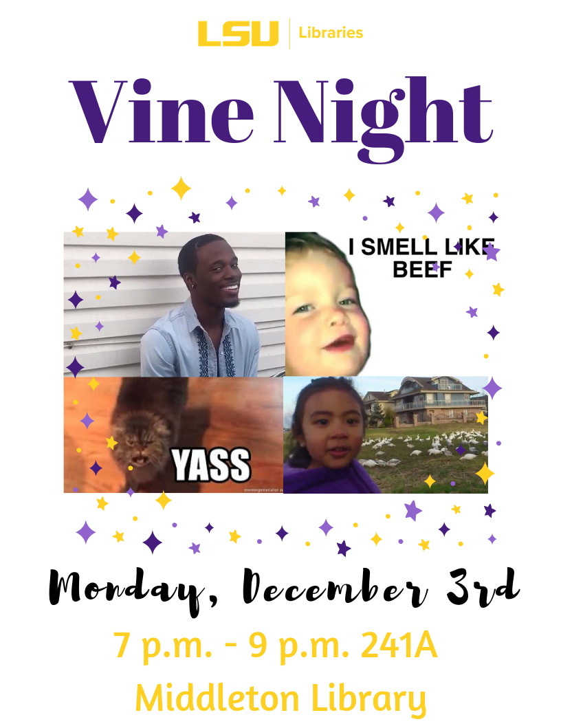 Vine Night Past Event