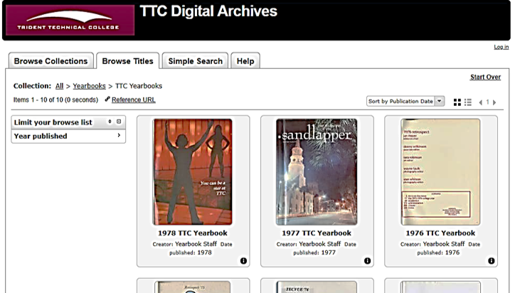 Archives TTC Yearbooks