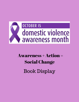 Domestic Violence Awareness Month graphic