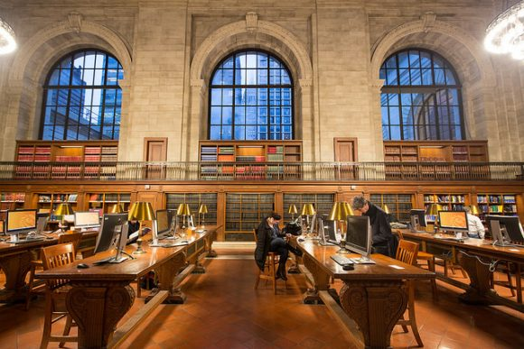 NYPL's Rose Reading Room