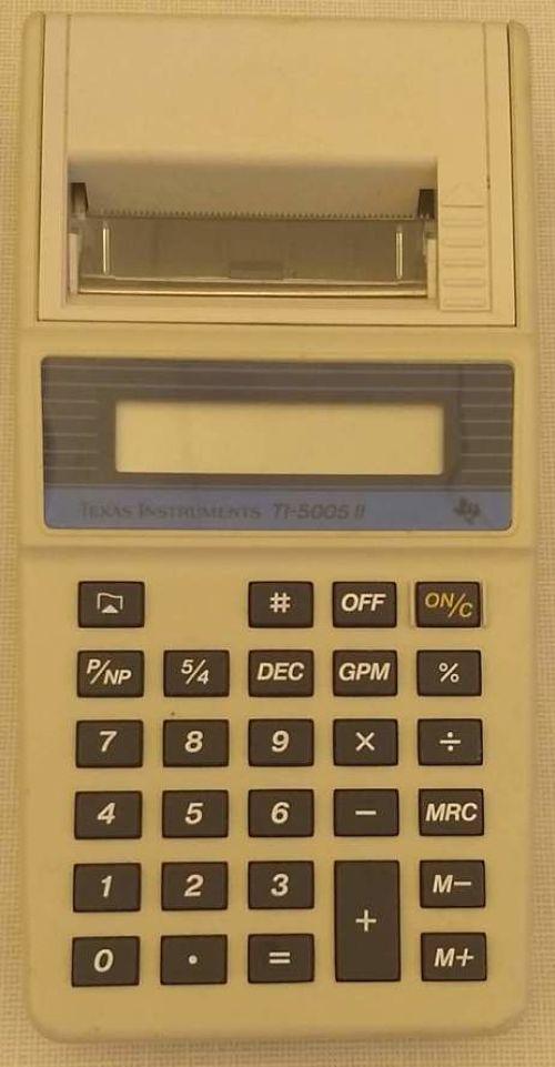 Texas Instruments TI-5005 II calculator