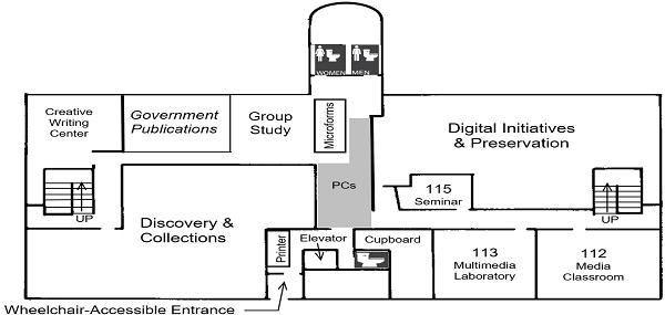 DML 1st floor plan