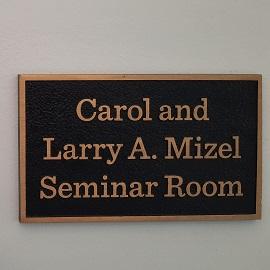 Mizel Seminar Room