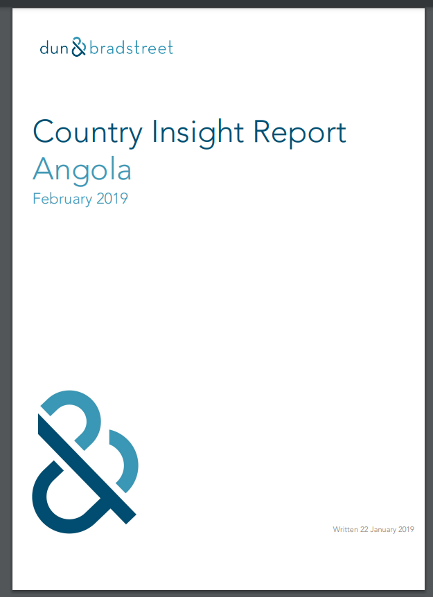 DnB Country Insight Report for Angola, 2019, pg. 1