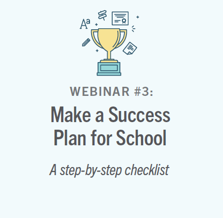 Make a Success Plan for School