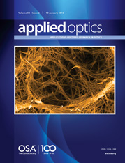 Applied Optics journal