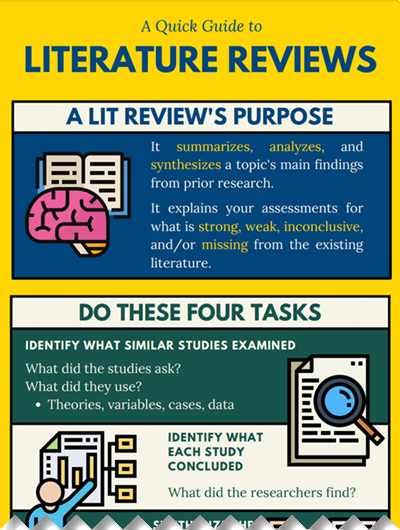 Quick guide to literature reviews