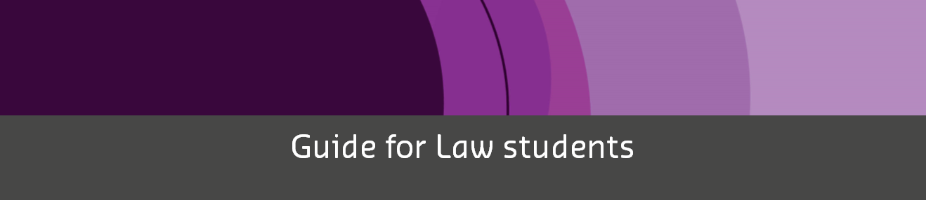 Guide for law students