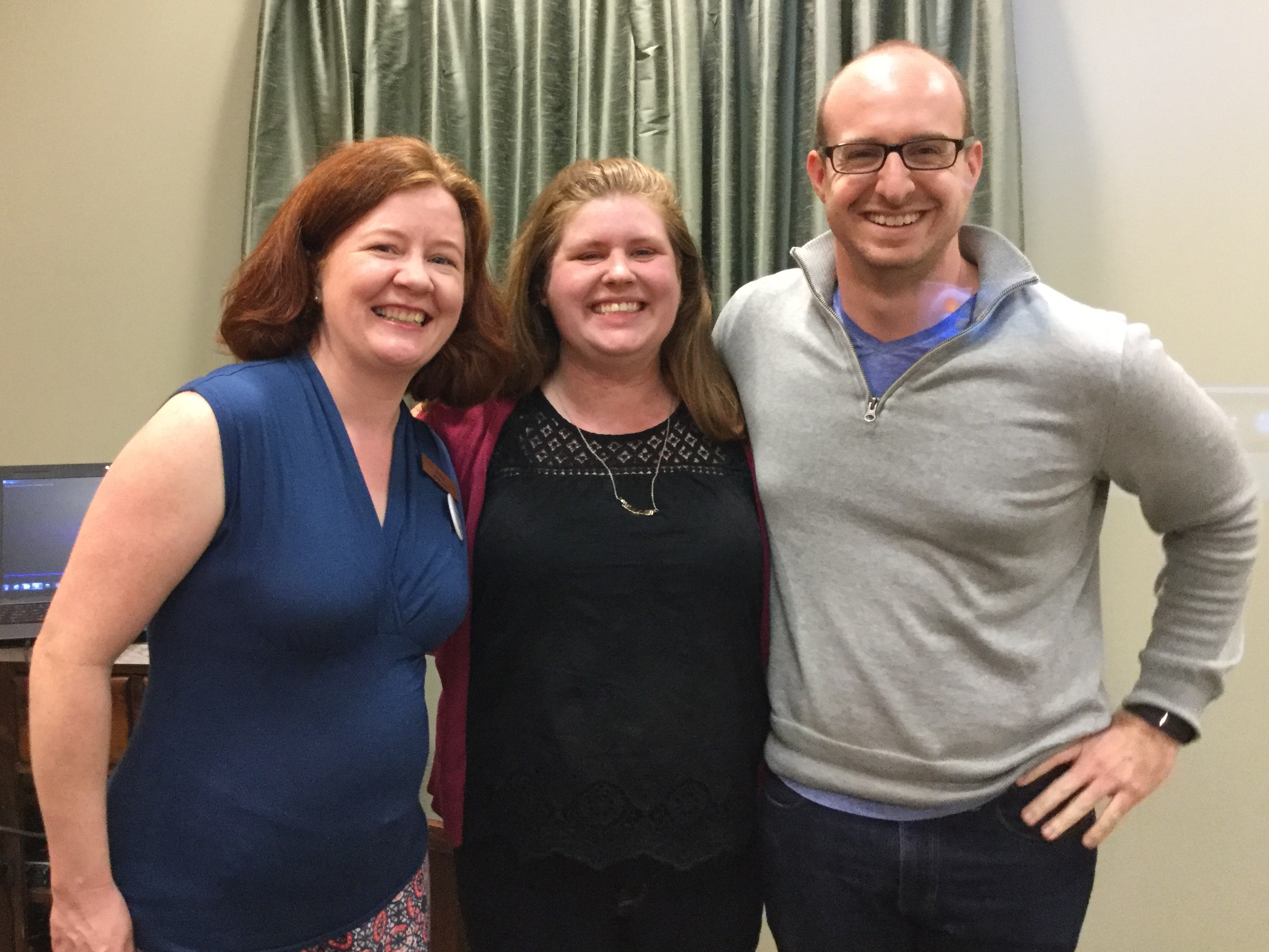 Bethel librarian and theater instructors