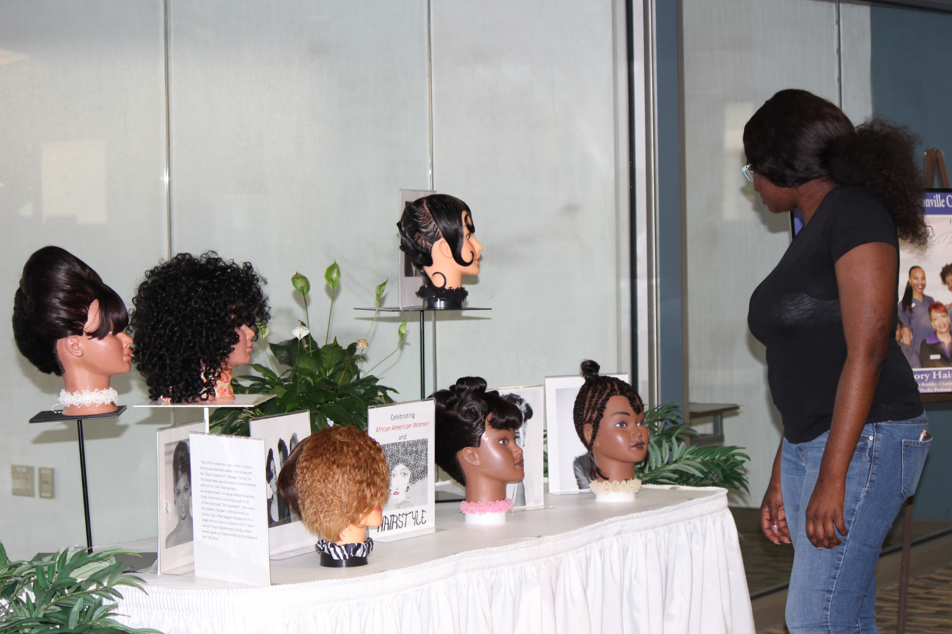 Hairstyle display