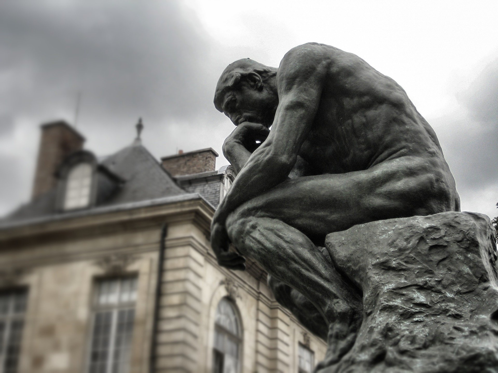 Picture of Rodin's the Thinker