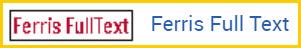 Ferris FullText link