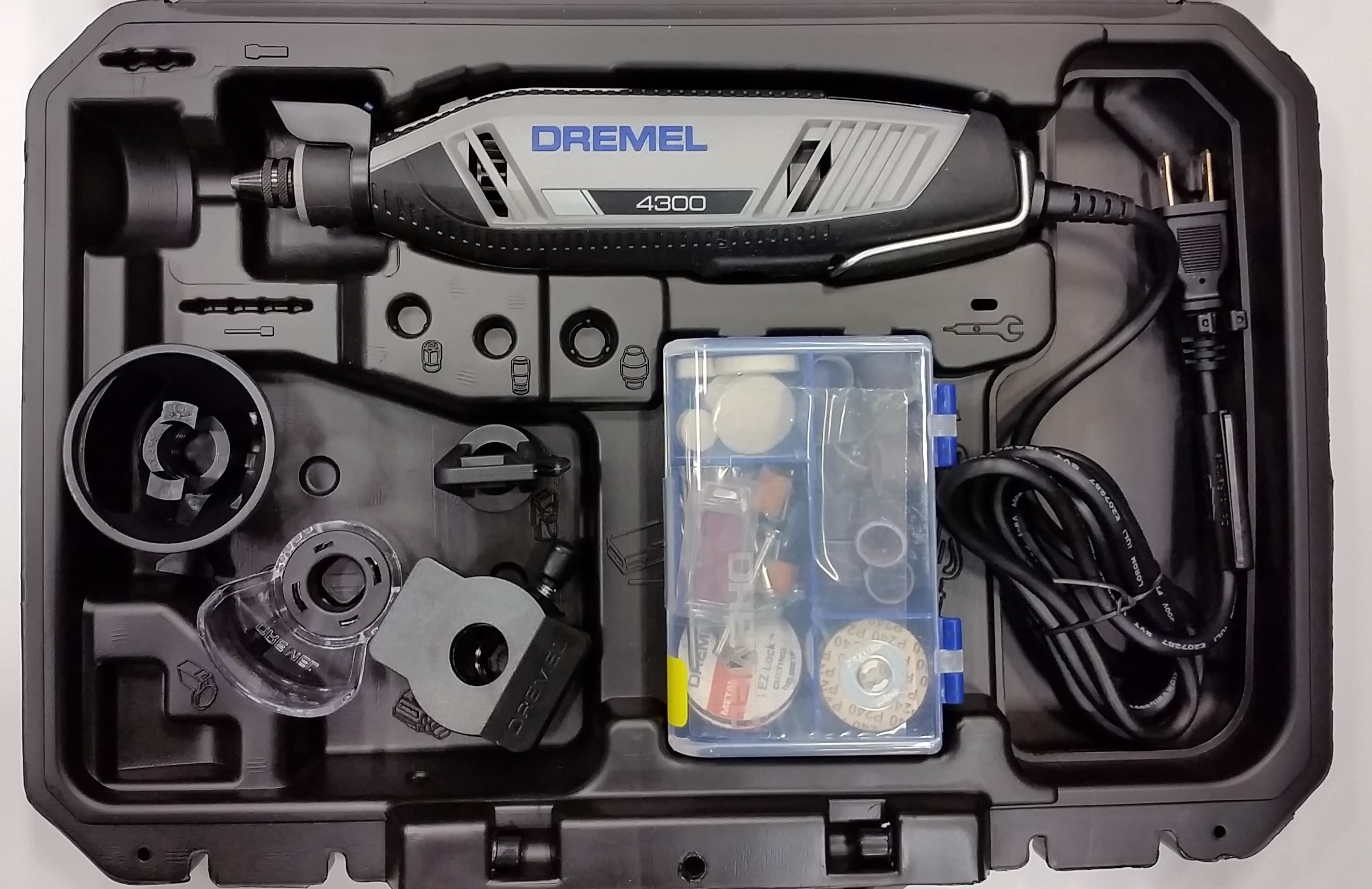 Dremel 4300 High Performance Rotary Tool Kit