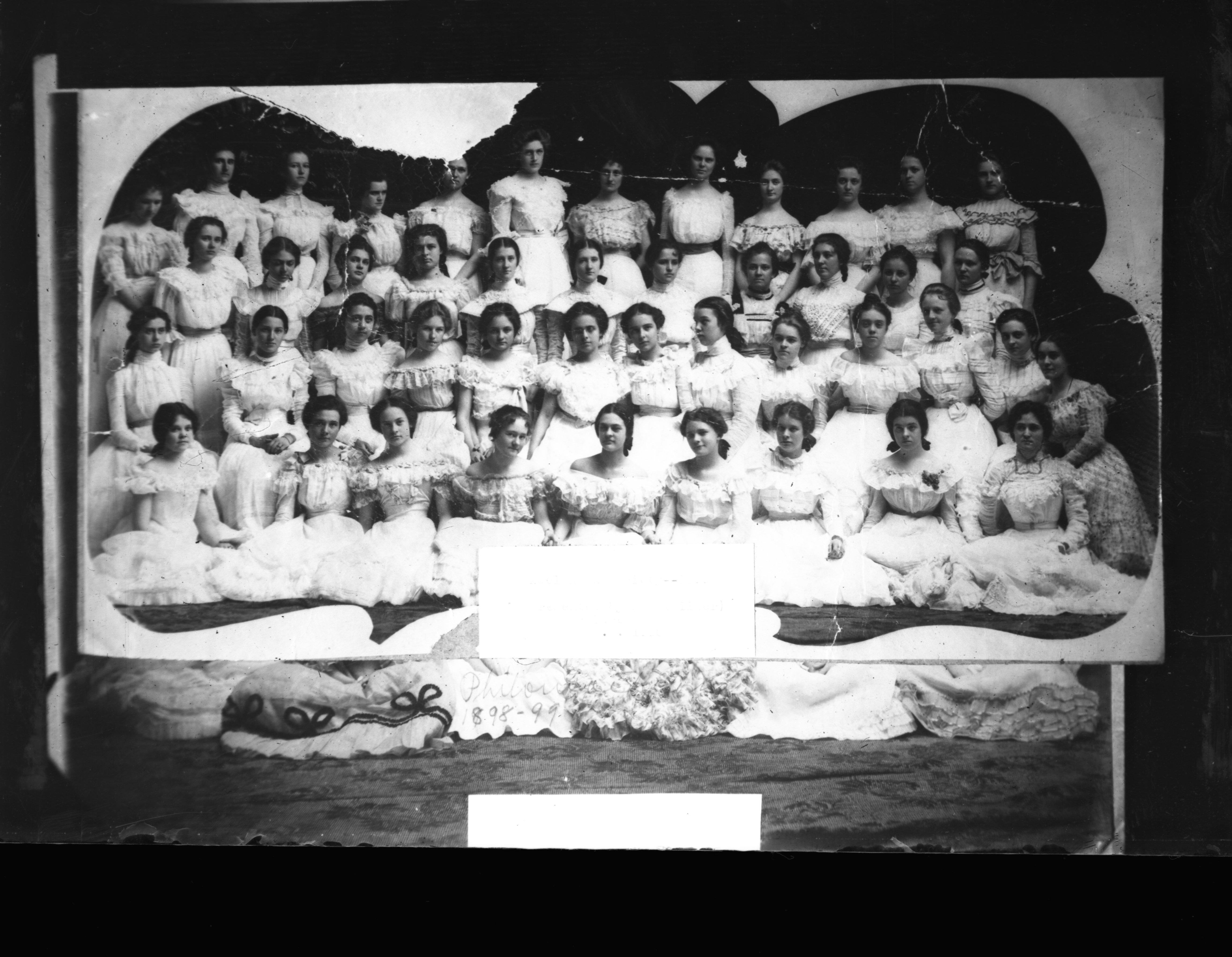 Adelphean Society 1898-1899