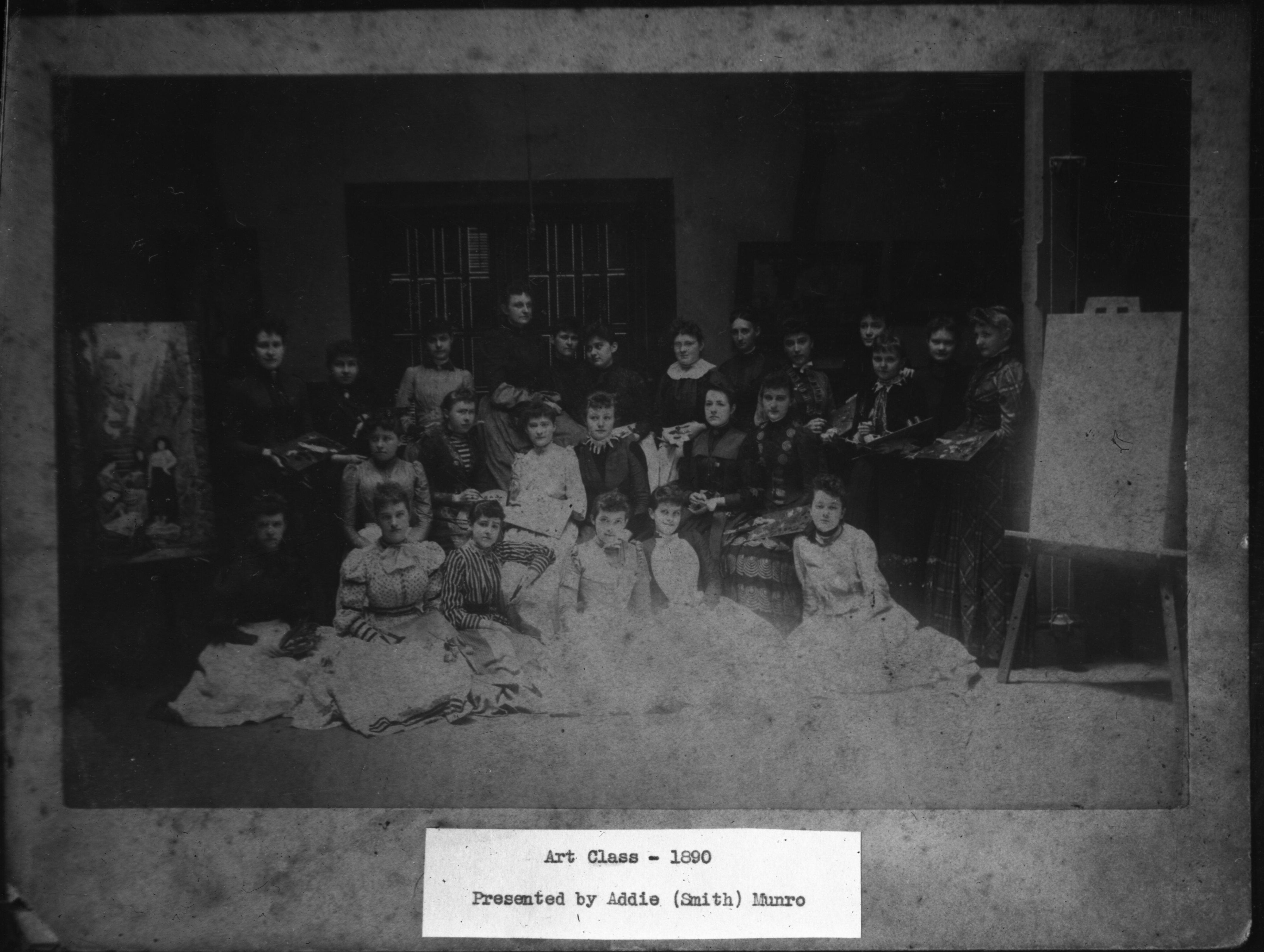 Art Class 1890