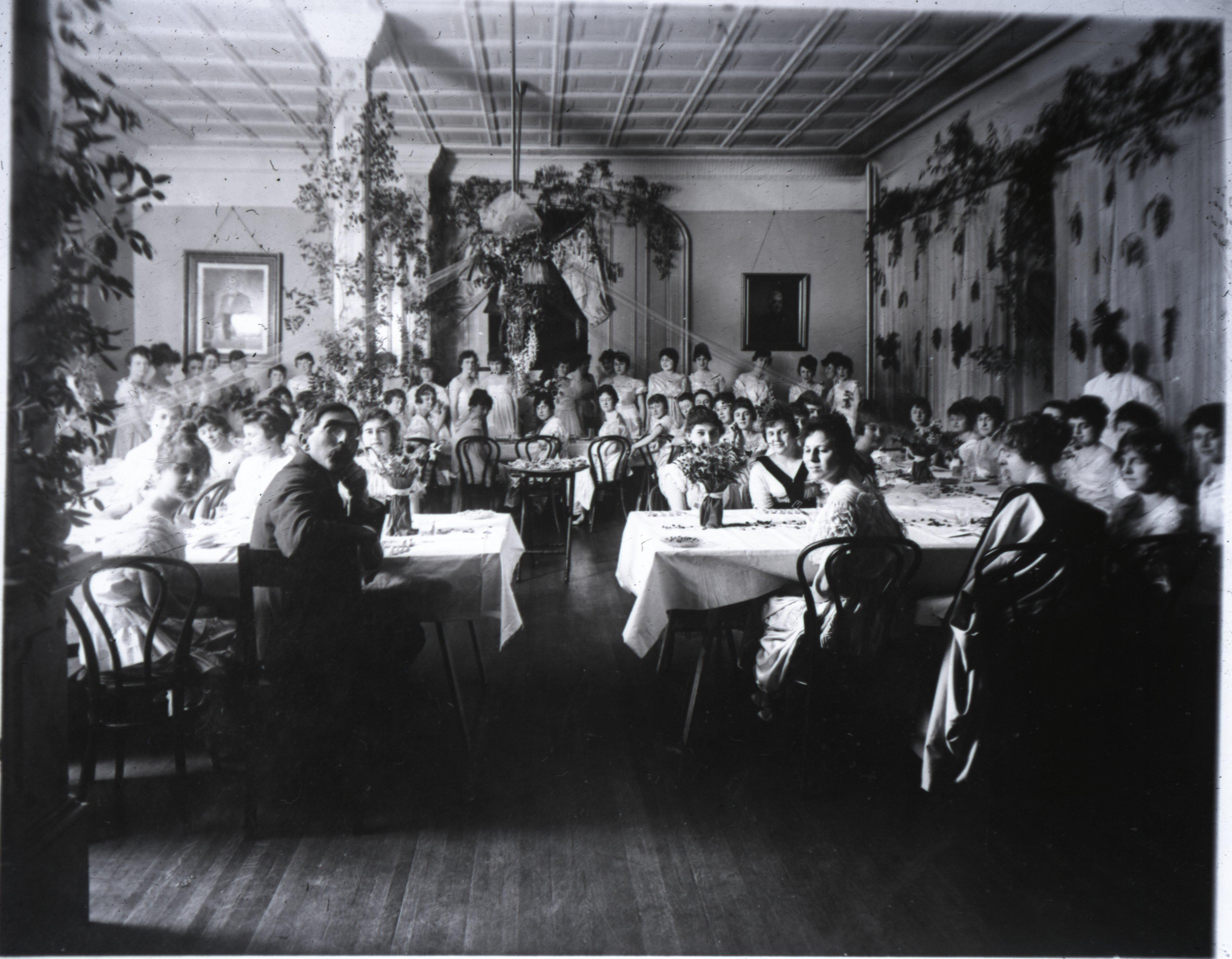 Wesleyan Female College Dining Room