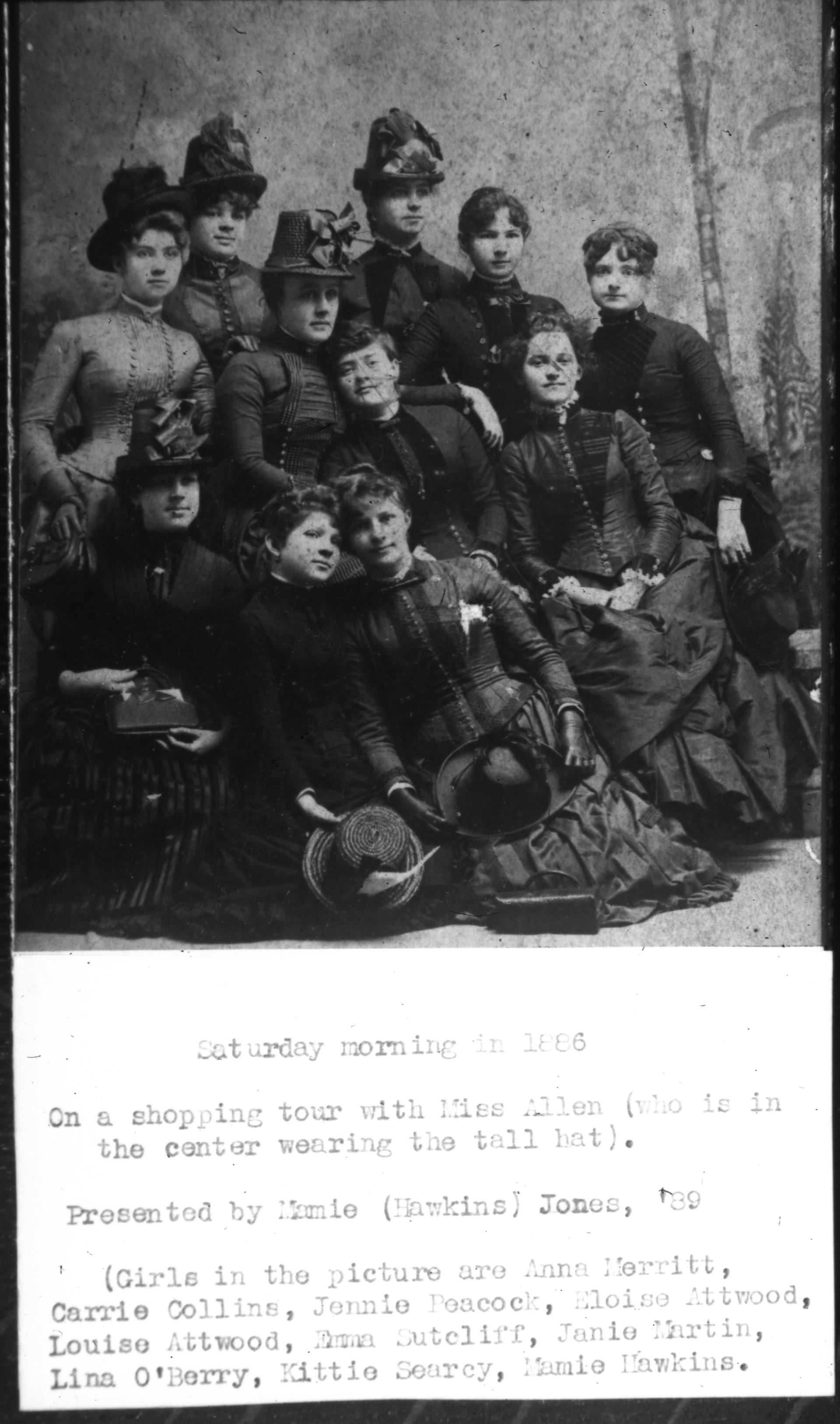 Saturday Morning in 1886