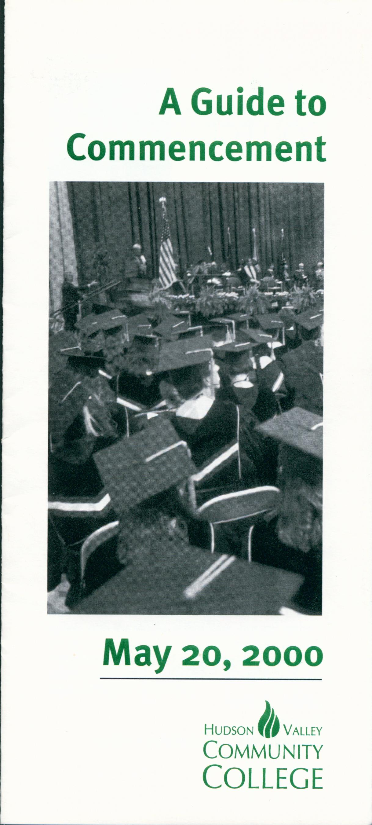 A Guide to Commencement, May 20, 2000