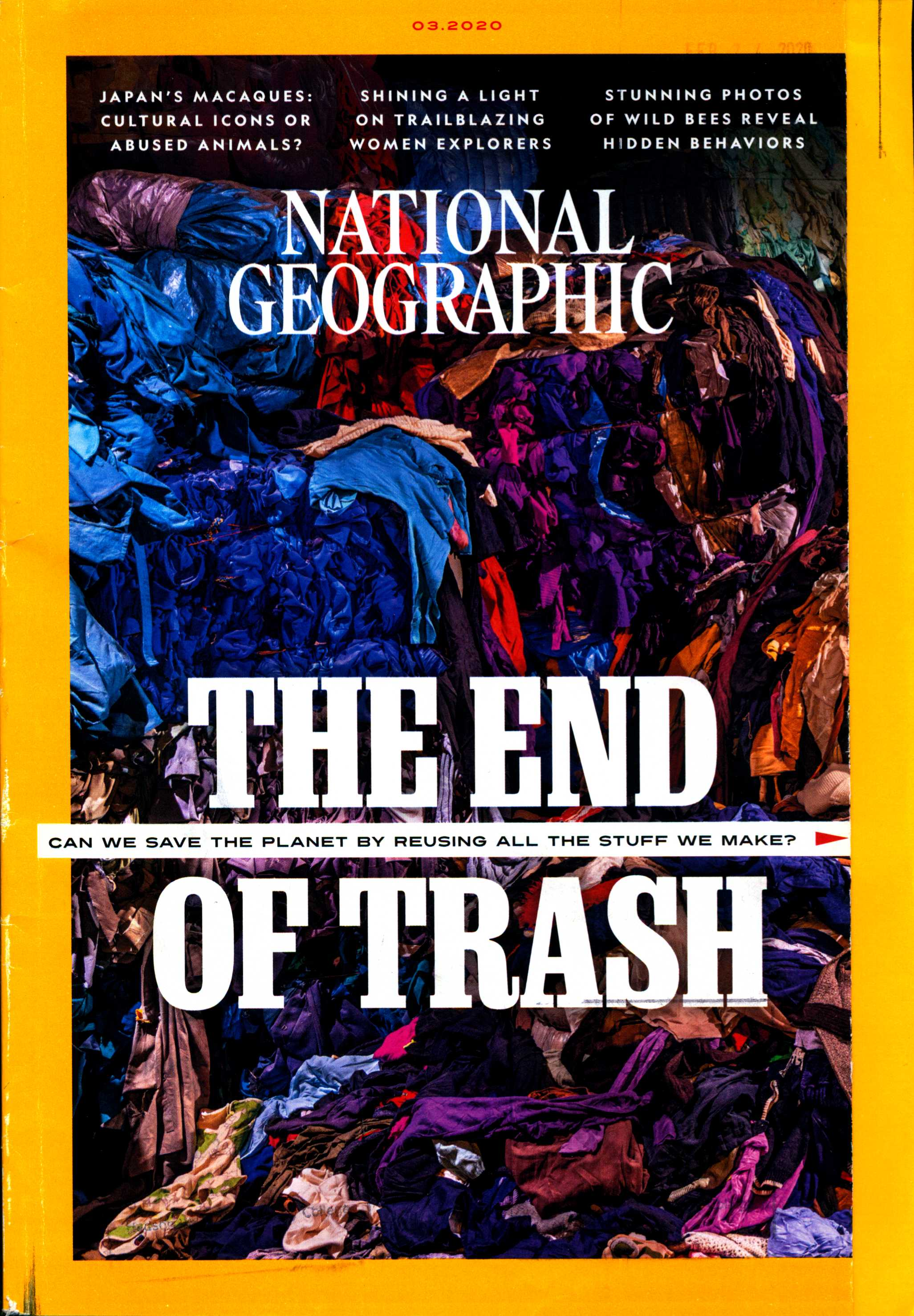 National Geographic: March 2020