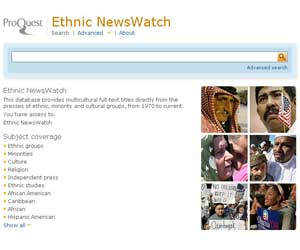 Ethnic NewsWatch