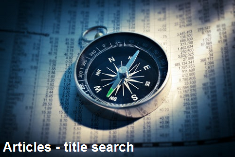 Articles - title search
