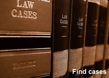 Find cases