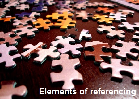 Elements of referencing