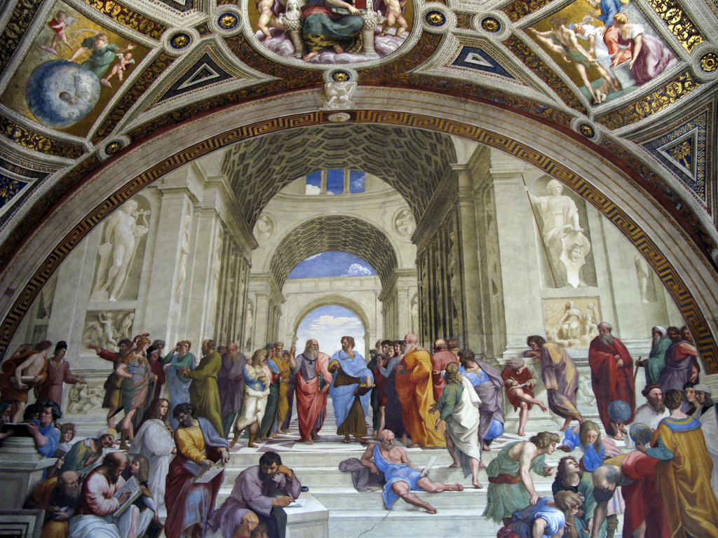 School of Athens philosophers