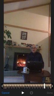 David at home