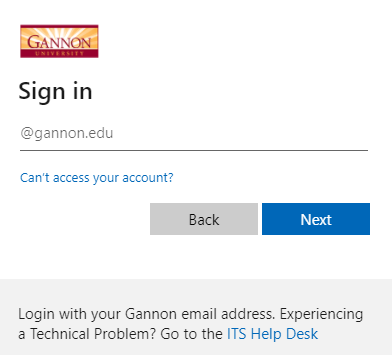 New library login