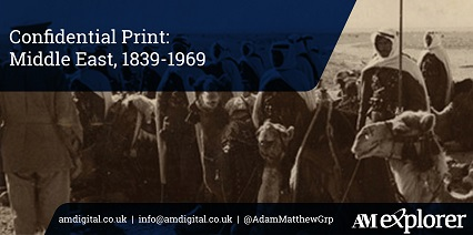 Confidential Print: Middle East, 1839-1969 image with link