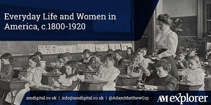 Everyday Life and women in America, 1800-1920 image with link