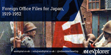 FO Files: Japan, 1919-1952 collection image with link