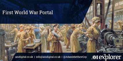 First World War Portal collection image with link