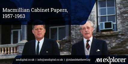 Macmillian Cabinet Papers, 1957-1963 image with link