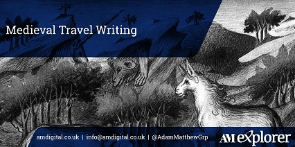 Medieval Travel Writing collection image with link