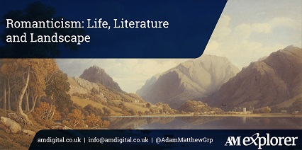 Romanticism: Life Literature and Landscape image with link