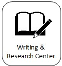 Writing and Research Center Icon and link