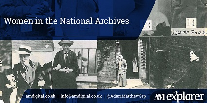 Women in the National Archives image with link