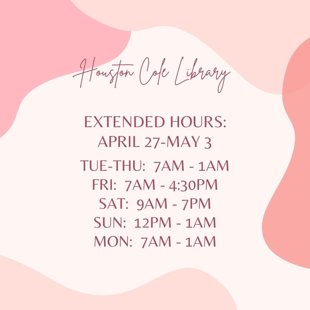 Spring 2021 Extended Hours