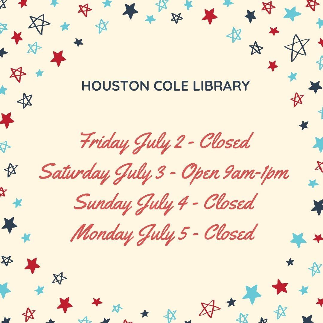July 4 Holiday Closing