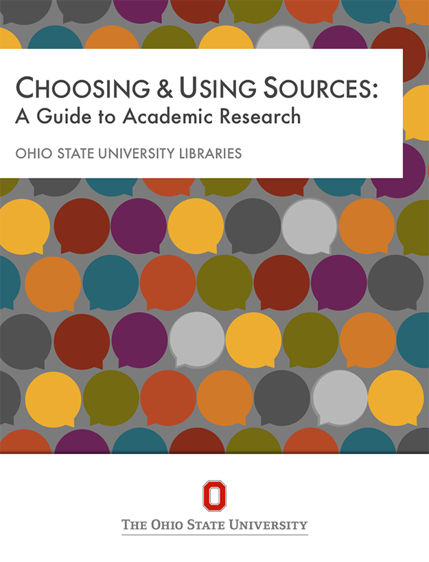 Choosing & Using Sources book cover